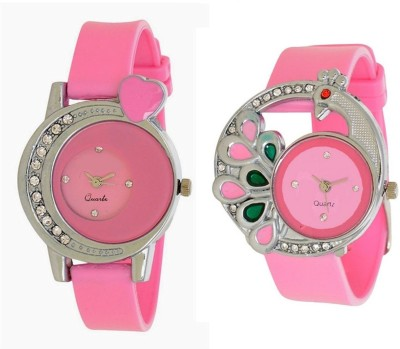 0cdfd0e88fd LEBENSZEIT New Stylish Dial Multicolor Latest Combo Watch For Women And Girls  Watch - For Girls