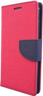 Motomo Flip Cover for Motorola Moto E3 Power(Pink, Artificial Leather)