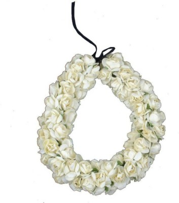 Confidence Gajra for Dance Accessories Hair Band (White) Hair Accessory Set(White) at flipkart