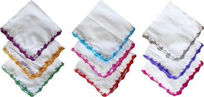 36e62c75a3b View moKanc Handmade Crochet Handkerchiefs Handkerchief(Pack of 9) Price  Online