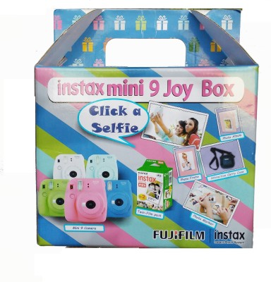 View Fujifilm joy Box Flamingo Pink Mini 9 Instant Camera(Pink)  Price Online