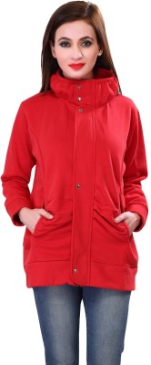 Bfly Full Sleeve Solid Women Jacket