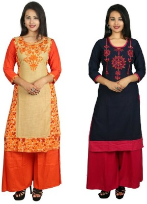 Prateek Exports Casual Embroidered Women