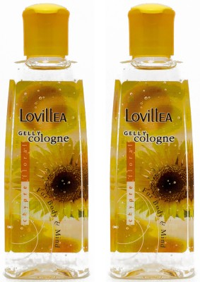 Lovillea Gelly Cologne Chypre Floral Pack of 2 Eau de Cologne  -  100 ml(For Men & Women)  available at flipkart for Rs.200