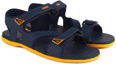 Puma Men Peacoat-Zinnia Sports Sandals