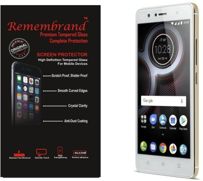 Remembrand Impossible Screen Guard for Lenovo K8 Plus(Pack of 1)