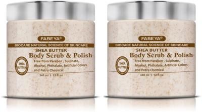 FABEYA BioCare Shea Butter Scrub(340 ml) 1