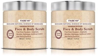 FABEYA BioCare Sandalwood Scrub(340 ml) 1
