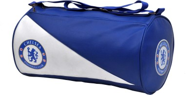 Cp Bigbasket Stylish Leather Rite Duffel Sport Travel Gym Bag(Blue, Kit Bag)  available at flipkart for Rs.450