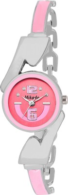 Mikado Precious Princess Pink Bracelet design analog watch for women and girls Watch  - For Girls