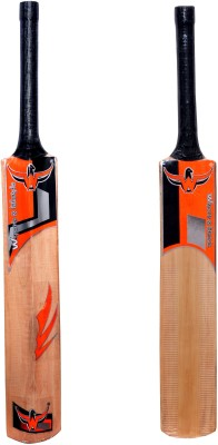 5870cd21a02 W sports   lifestyle Combo Pack - Natural Polish - Popular Willow 2 Cricket  bats Size