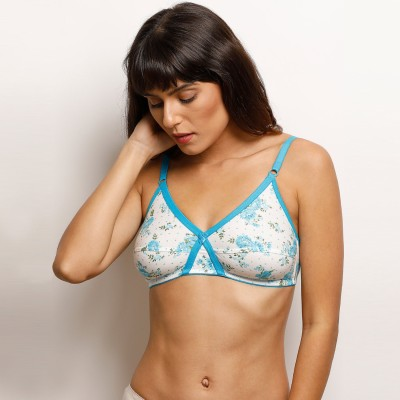 8b06c944b8a1d 44% OFF on Rosaline By Zivame Women s Full Coverage Non Padded Bra (Multicolor)