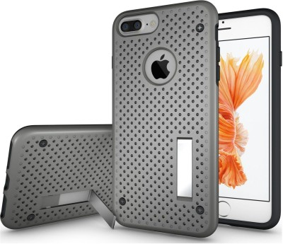 Cubix Back Cover for Apple iPhone 7 Plus, Apple iPhone 8 Plus Grey, Dual Protection