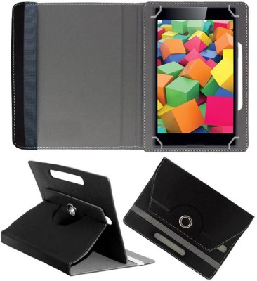 Fastway Book Cover for iBall Slide 4GE Mania 8 GB 7 inch with Wi-Fi+4G Tablet(Black, Cases with Holder)