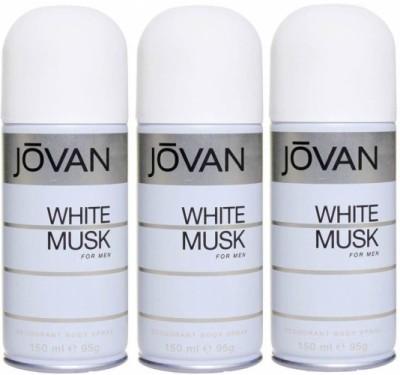 https://rukminim1.flixcart.com/image/400/400/jatym4w0/deodorant/9/h/p/450-three-white-musk-combo-set-body-spray-jovan-men-original-imafyahghwendruy.jpeg?q=90