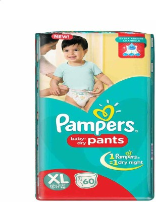 Pampers Pants XL Diapers (60 Pieces)