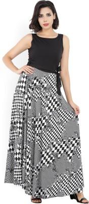 Tokyo Talkies Women Maxi White, Black Dress