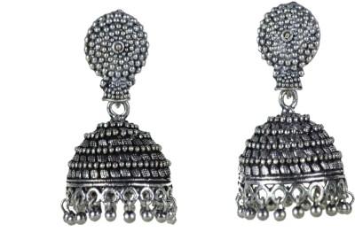 spero silver jhumka White Metal Jhumki Earring  available at flipkart for Rs.179