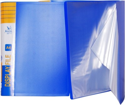 Aahum Sales Polypropylene Display File 5 Pcs(Set Of 5, Multicolor)  available at flipkart for Rs.270