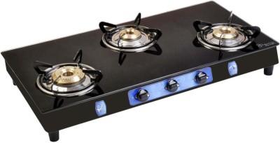 Bajaj CGX3 ECO 3 Burner Gas Cooktops (Black)