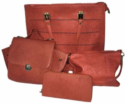 Elegant Shopping Women Maroon Messenger Bag at flipkart