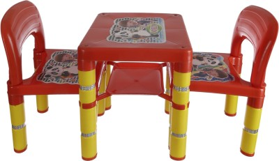NHR Plastic Desk Chair(Finish Color - RED)