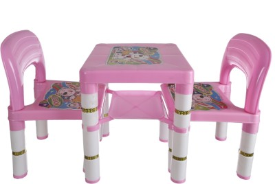NHR Plastic Desk Chair(Finish Color - PINK)