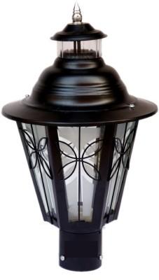 PR Prashant Gate Light Aluminium, Glass Outdoor Lamp