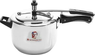 Wonderchef Wonderchef Secura 3 Pressure Cooker 5L 5 L Pressure Cooker with Induction Bottom(Stainless Steel, Aluminium)