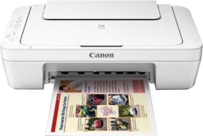 Canon MG3077S Multi-function Printer(White)