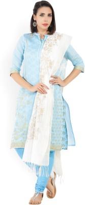 Aurelia Printed Kurta, Churidar & Dupatta Set(Stitched)