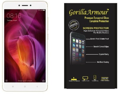 Gorilla Armour Tempered Glass Guard for Mi Redmi Note 4(Pack of 1)