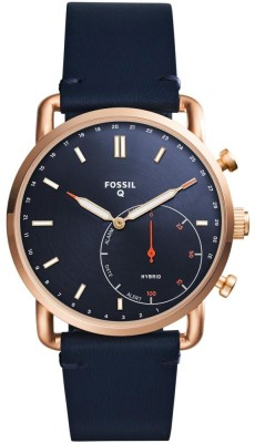 Fossil FTW1154 Hybrid Watch Smartwatch(Blue Strap Free Size)