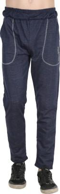 BIS Creations Solid Men Blue Track Pants Flipkart
