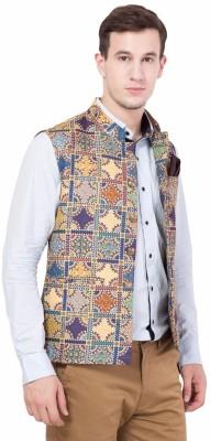 ShopyBucket Sleeveless Printed Men's Jacket