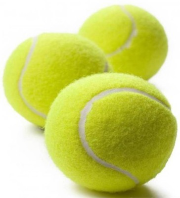 GLS Cricket Tennis Ball Superior Grip High Bounce Standard Size - Pack of 3 (Green) Cricket Tennis Ball(Pack of 3, Green)  available at flipkart for Rs.170