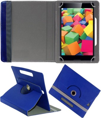 Fastway Book Cover for iBall Slide 4GE Mania 8 GB 7 inch with Wi-Fi+4G Tablet(Blue, Cases with Holder)