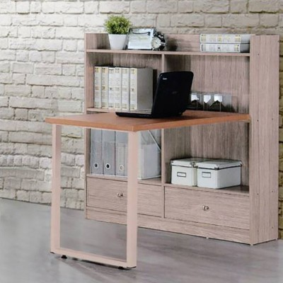Woodness Chicago Engineered Wood Computer Desk(L-shaped, Finish Color - Grey Oak)
