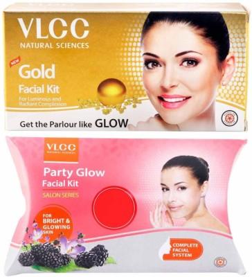 VLCC Gold Facial and Party Glow Kit