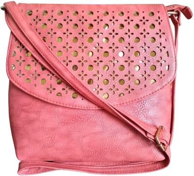 Faslook Pink Sling Bag at flipkart