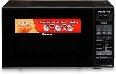 Panasonic 20 L Solo Microwave Oven(NN-ST266BFDG, BLACK)