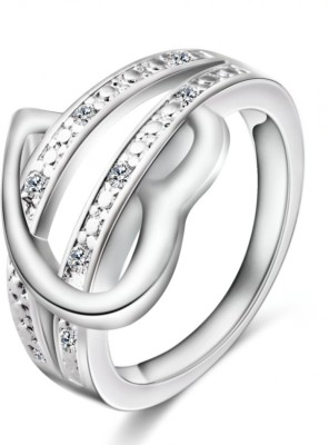 osw jewel Alloy Crystal Platinum Plated Ring osw jewel Rings