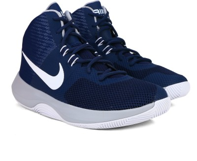 cc97119698d76 28% OFF on Nike AIR PRECISION Basketball Shoes For Men(Navy) on Flipkart |  PaisaWapas.com