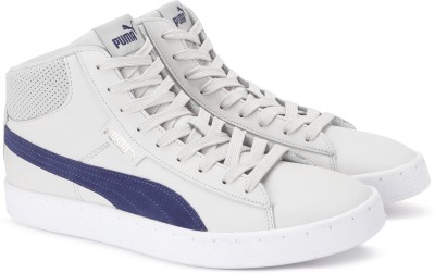 8acdd5a0e83 60% OFF on Puma 1948 Mid L Sneakers For Men(Grey) on Flipkart ...