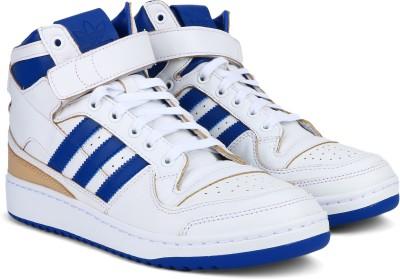 buy online acc3e 906fa 33% OFF on Adidas Originals FORUM MID (WRAP) Sneakers For Men(White) on  Flipkart   PaisaWapas.com