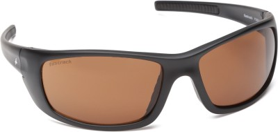 Fastrack Sports Sunglasses(Yellow)