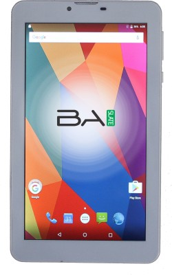 View Baslate 7416 16 GB 7 inch with Wi-Fi+4G Tablet(White)  Price Online
