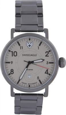 Swiss Eagle SE-9121-66  Analog Watch For Men
