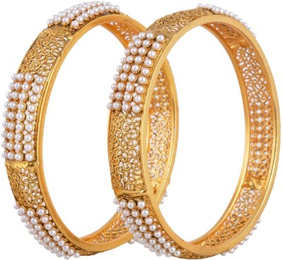 Zeneme Alloy Bangle Set(Pack of 2) at flipkart