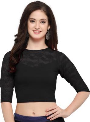 Janasya Round Neck Women's Stitched Blouse